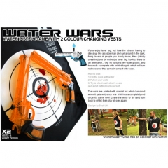 Best Water Wars: Water Pistols & color change target  vests For Sale
